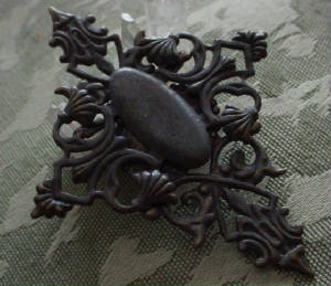 Our Hand Oxidized Large Gothic Or Renaissance Style Cross Kit